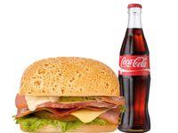 Sándwich 6 Carnes + Coca-Cola Sabor Original 300 ml