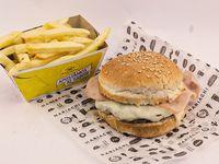 Mariachi kid hamburguesa