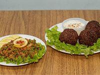 Promo 8 (Vegetariano) - Porción  falafel + ensalada