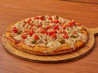 Nueva - Pizza con pollo y morrones