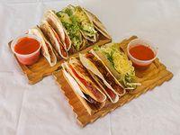 Promo 5 - 18 tacos + 2 salsas a elección