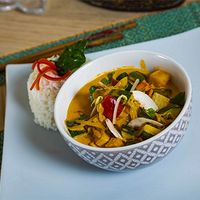 Massaman curry vegetariano