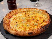 Pizzeta cuatro di formaggio
