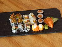 Combo Eilat (100 % salmón premium) - 18 piezas