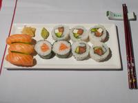 Combo - Yukari de salmón rosado (10 piezas)