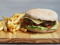 Strega burger vegetariana (diet)