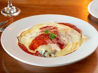 Lasagna con salsa a elección