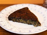Tortilla de acelga  vegana (porción)