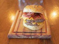 7 - Hamburguesa cheese & bacon doble