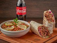 Promo 2 - Shawarma L a elección (400 g) + ensalada Tabule + gaseosa  500 ml