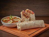 Promo 5 - 2 shawarmas XL a elección  (500 g c/u) + ensalada tabule