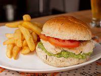 Chicken sándwich pechuga grill