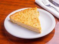 Fainá rellena de jamón y queso
