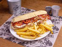 Sándwich gigante de lomo BDL