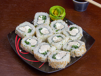 California cheese roll (10 piezas)
