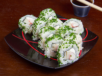 California kani roll (10 piezas)
