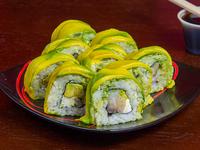 Avocado ebi roll (10 piezas)