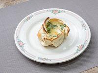 Canastita de queso roquefort y apio