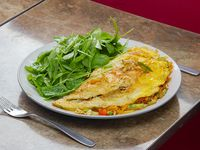 10 - Omelette de Vegetales + Guarnición
