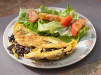 3 Omelette de Champignones
