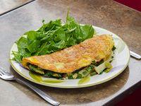 8 - Omelettes de verdeo, palmitos y queso