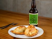 2 Empanadas + Cerveza artesanal