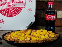 Pizza Jamón y Maicitos