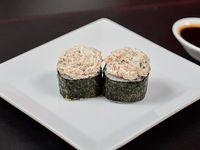 Niguiri gunkan salmón grillado (10 piezas)