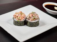 Niguiri  gunkan ceviche de salmón (10 piezas)