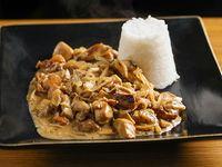 Menú del día - Strogonoff de pollo