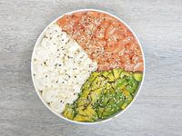 Classic sushi salad