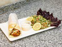 Combo 6 - Sándwich de falafel + tabulé