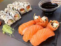Combinado de salmón (14 piezas)