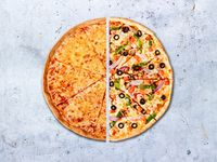 Pizza Mediana Tradicional Por Mitad