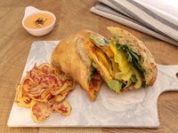 Sándwich en Pan Ciabatta