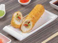 Hand roll vegetariano