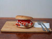Sándwich de churrasco español