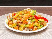 66 - Pollo con salsa picante