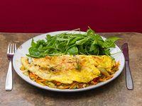 10  - Omelette de vegetales