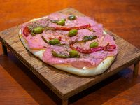 Pizza especial (6 porciones)