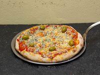 Pizza con roquefort chica