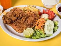 Combo 1 - 1/4 pollo broaster + bebida 350 ml