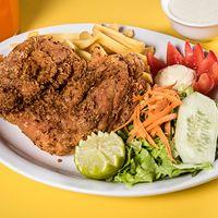 Combo 1 - 1/4 pollo broaster + bebida 350 ml