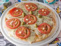Pizza grande napolitana sin gluten