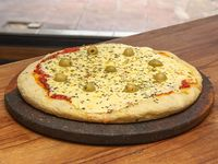 Pizza muzzarella doble