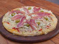 Pizza especial triple queso