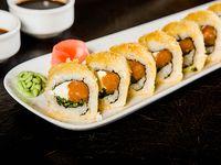 Tempura sake roll