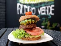 Hamburguesa keto beyond meat