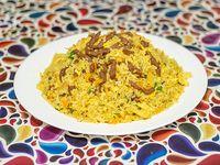 36 - Arroz con pollo al curry