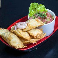 Tequeños de camarón y queso (5 unidades)